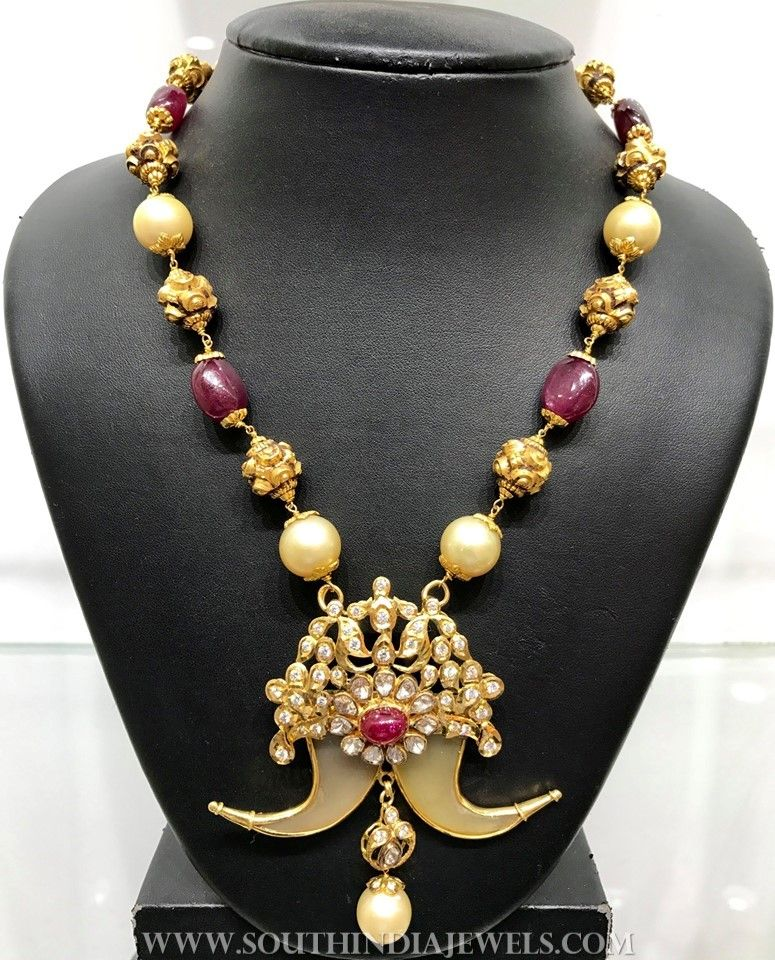 Traditional Gold Haram From Naj Jewellery | Traditional, Gold and ...
