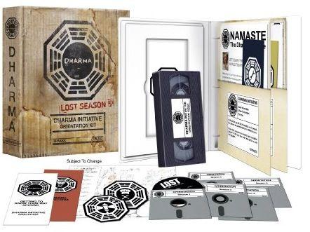Lost Season 5 Dharma Initiation Kit. Want this sooo bad!