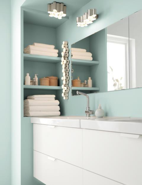 Praktische Wohntipps Furs Badezimmer Schoner Wohnen Ikea Badzubehor Ikea Einbauregale