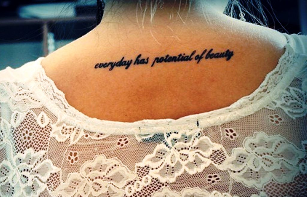 Back Of Neck Tattoos Back Of Neck Tattoos Quotes Back Of Neck Tattoo Neck Tattoo Tattoo Quotes