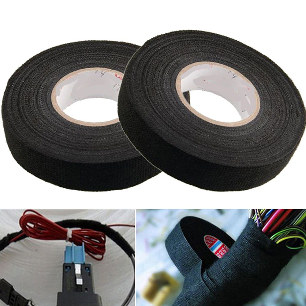 1roll Car Auto Adhesive Electrical Cloth Tape For Cable Loom Wiring Wrap Wire Harness Ebay Sponsored