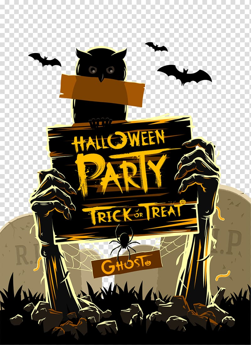 Halloween Party Trick Or Treat Illustration Halloween Costume Party Illustration Halloween Tra Halloween Party Costumes Halloween Poster Halloween Web Design