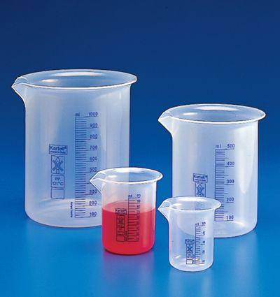 Vaso Precipitado Graduacion Color Azul Para Una Mejor Vision Diferentes Volumenes Vasos De Precipitado Matraces Vaso