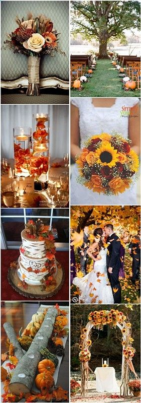 31 Wedding Ideas for Fall Simple but Special #fallweddingideas