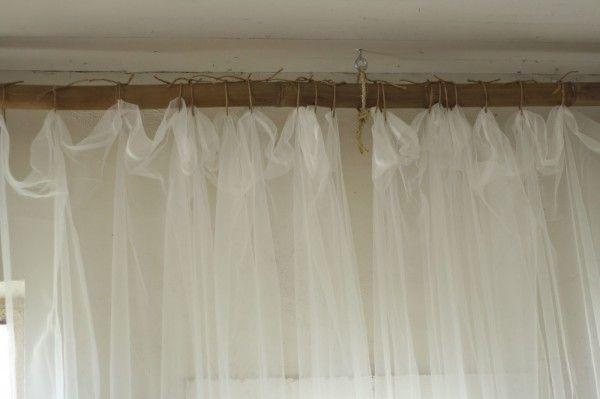 25 Creative Diy Curtain Rod Tutorials Remodelaholic Diy