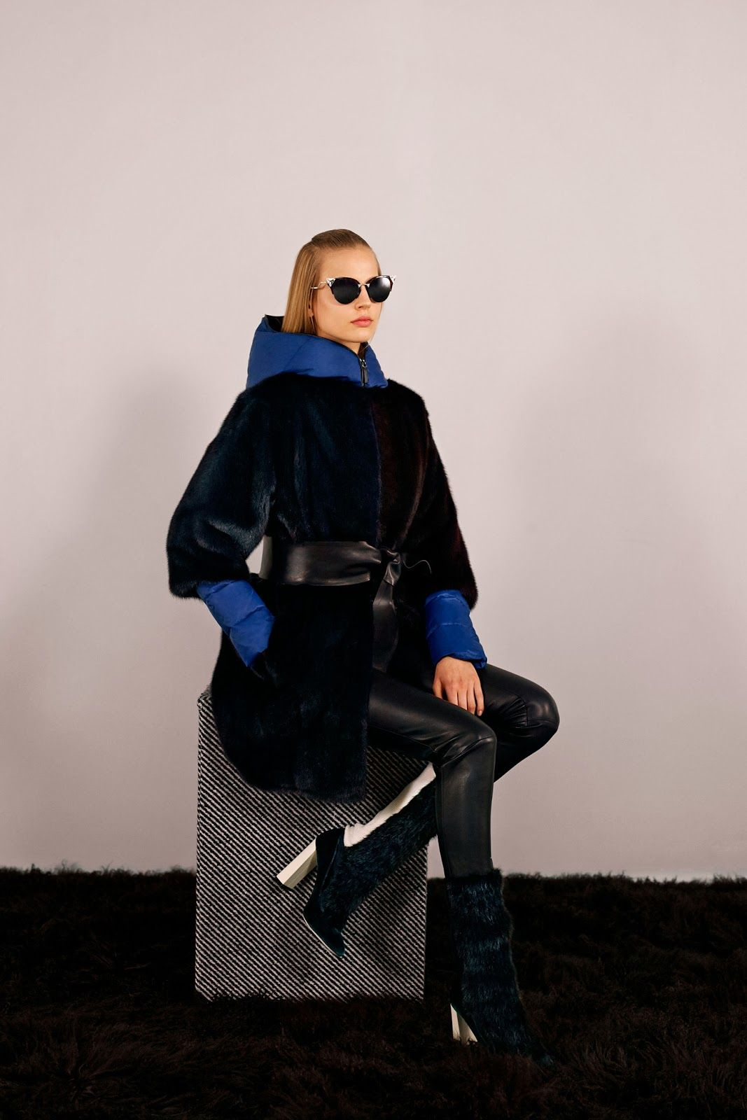 elisabeth erm for fendi pre-fall 2014