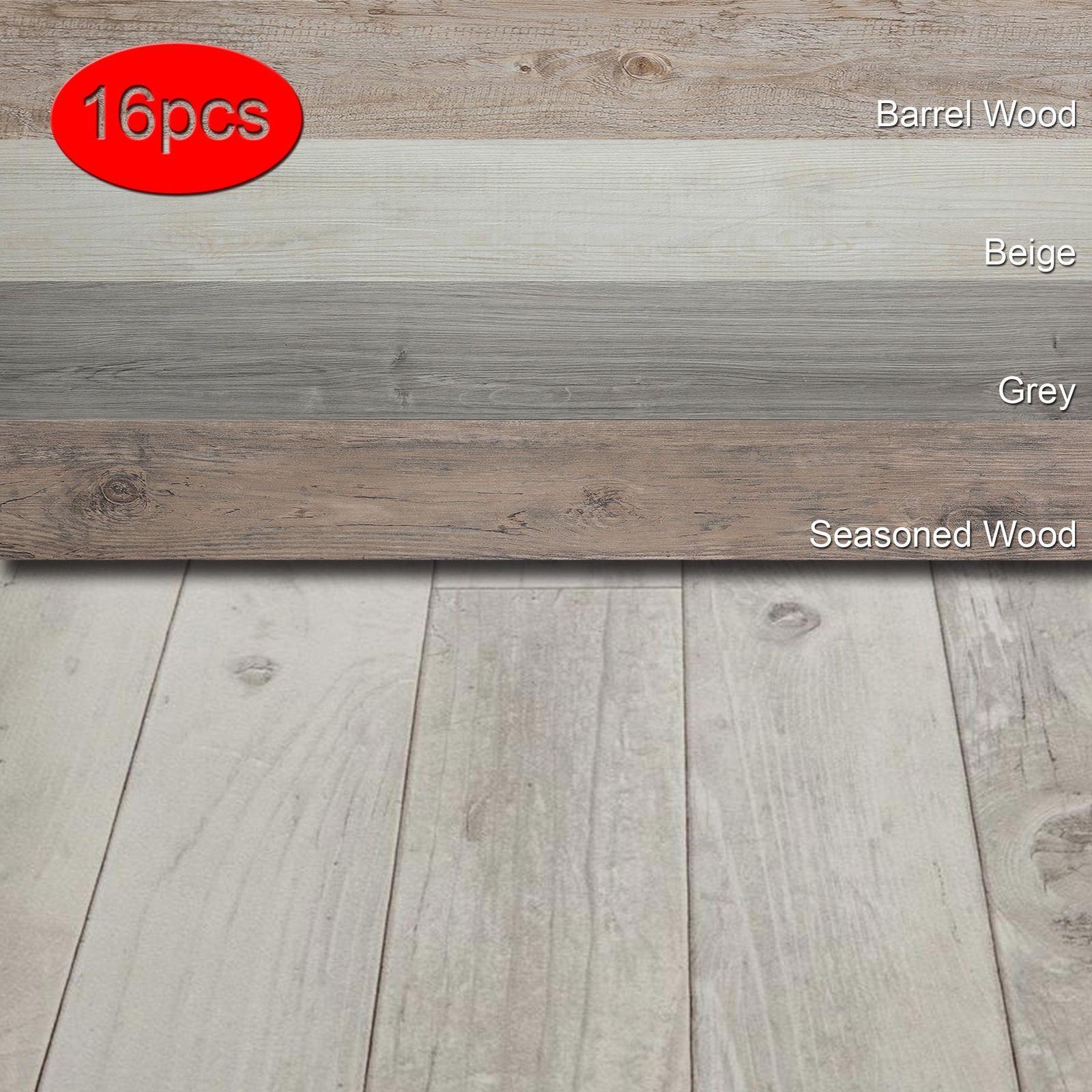 Details About 16 Pcs Vinyl Floor Planks Adhesive Floor Tiles 2 0mm Thick Easy Installation Vinyl Flooring Adhesive Floor Tiles Flooring