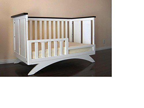 Eden Baby Madison Collection Crib, White/Espresso | Baby Nursery ...