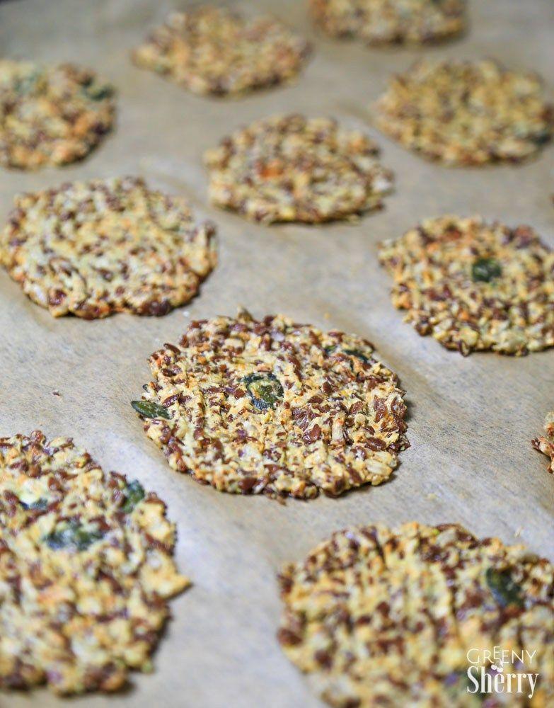 glutenfreie leinsamen cracker rezept brot pinterest. Black Bedroom Furniture Sets. Home Design Ideas