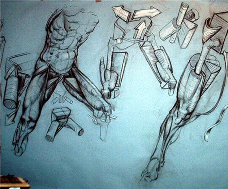 De FRANK PORCU o la anatomía para artistas. | art | Pinterest ...