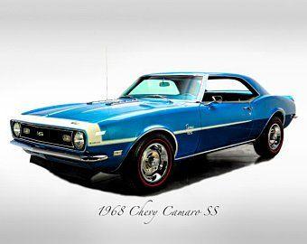 Classic Cars – 1977 Pontiac Firebird Trans Am – Muscle Car – Print