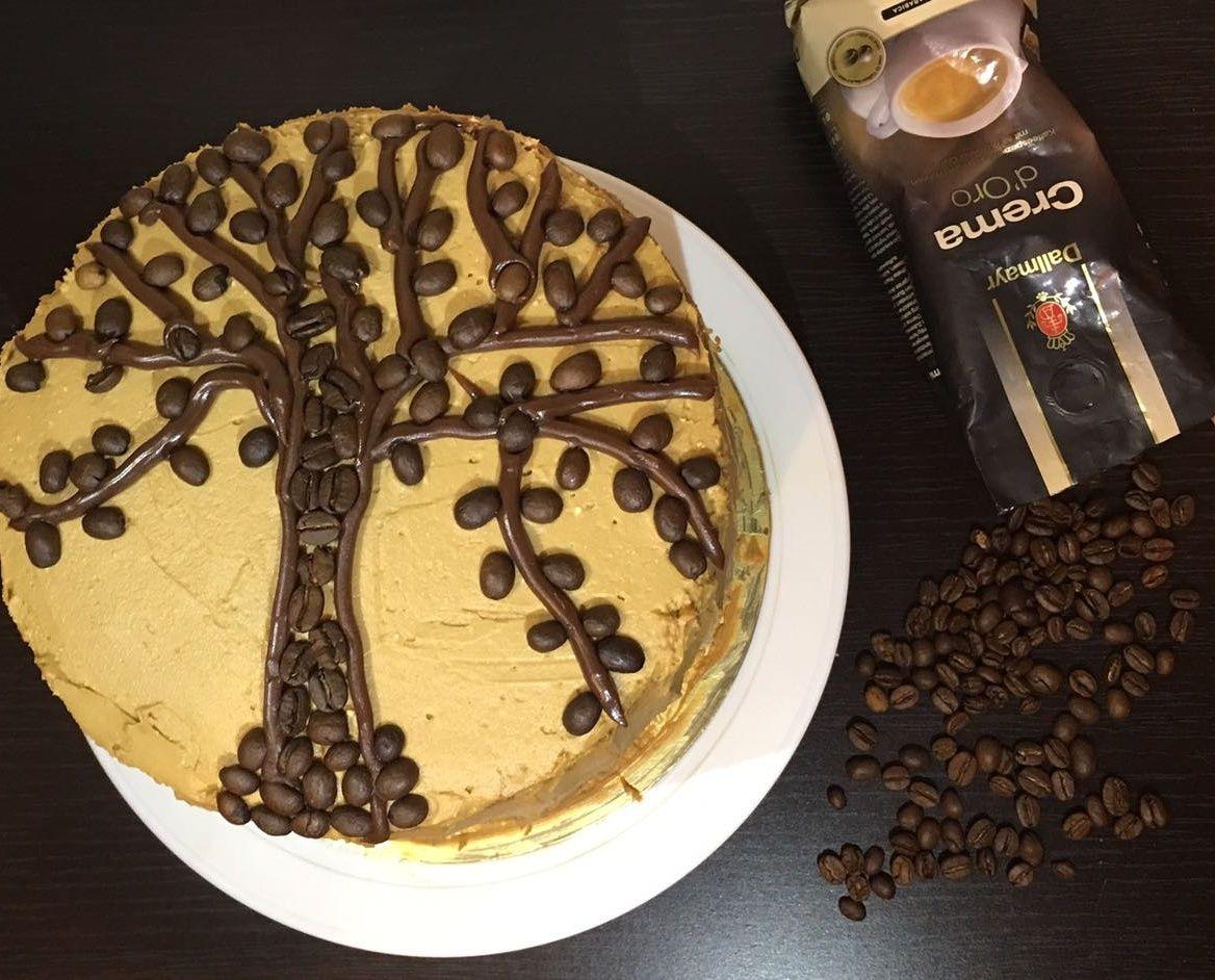 Кофейный торт своими руками фото 398
