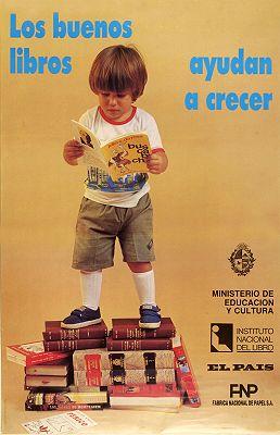 Los Buenos libros ayudan a crecer / Foto : Horacio Olivera (1991)