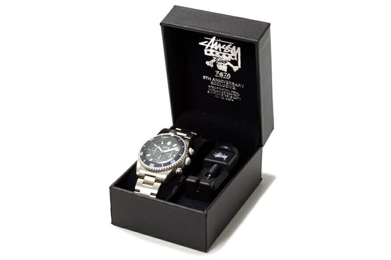Stussy ZOZO Chapter 5th Anniversary Limited Edition Chronometer  Crewsader   Watch  d235ac3ae