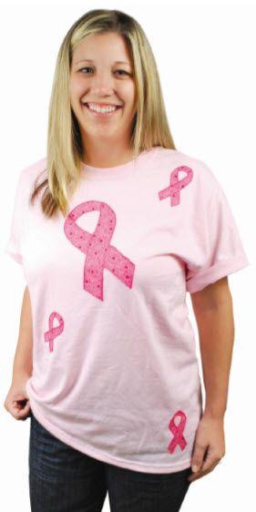 A C Mooore Awareness Ribbon T Shirt Craft Breastcancerawareness