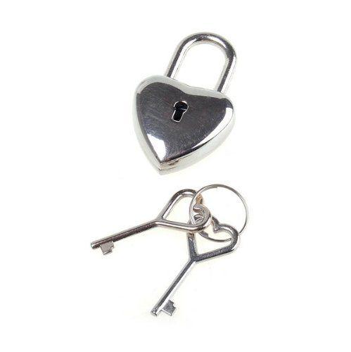 BestDealUSA Heart Shape Fine Silver Lock With Key Diary Lock Jewelry: http://www.amazon.com/BestDealUSA-Heart-Shape-Silver-Jewelry/dp/B007EHYFVM/?tag=greavidesto05-20