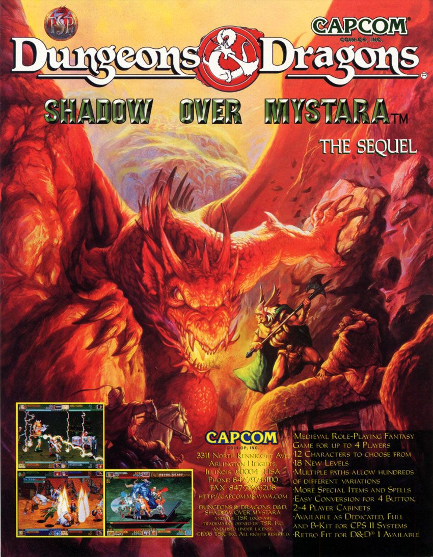 capcom dougens and dragons | Dungeons & Dragons - Shadow over Mystara