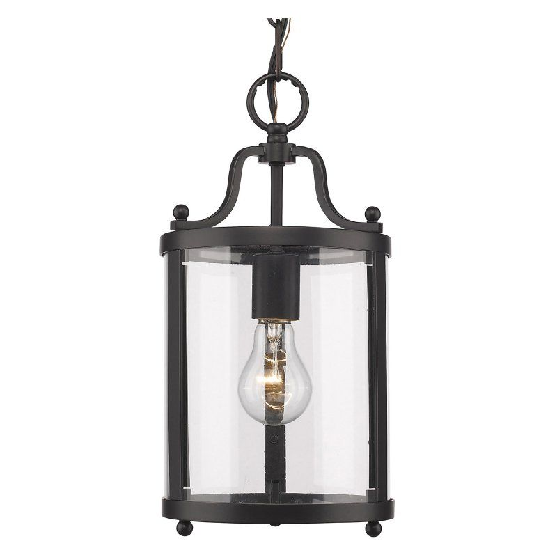 Golden Lighting Payton 1157-M1L BLK Mini Pendant Light - 1157-M1L BLK