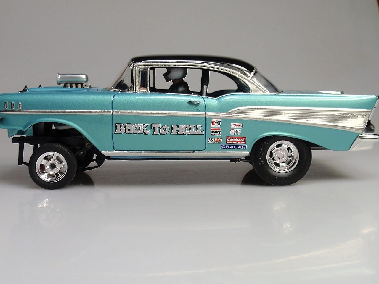 57 Chevy Belair Gasser | Scale Model Cars & Trucks | Pinterest ...