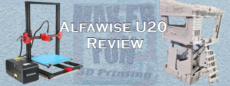 Alfawise U20 3D Printer Great & Affordable (With images