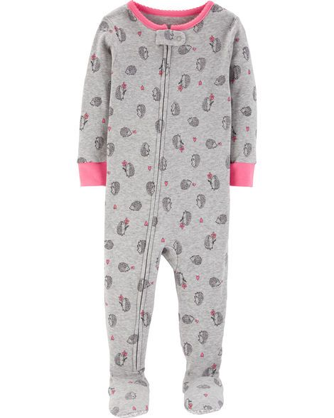 New Carter/'s Girls Fleece Sleep n Play Leopard Heart NB 3m 6m 9m NWT Pajamas
