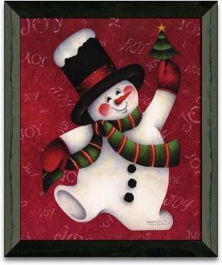 Move It Move It Christmas Holiday Framed Graphic Art
