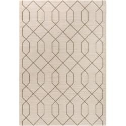 Photo of benuta short pile carpet Narvik Cream 80×150 cm – Modern carpet for living room benuta