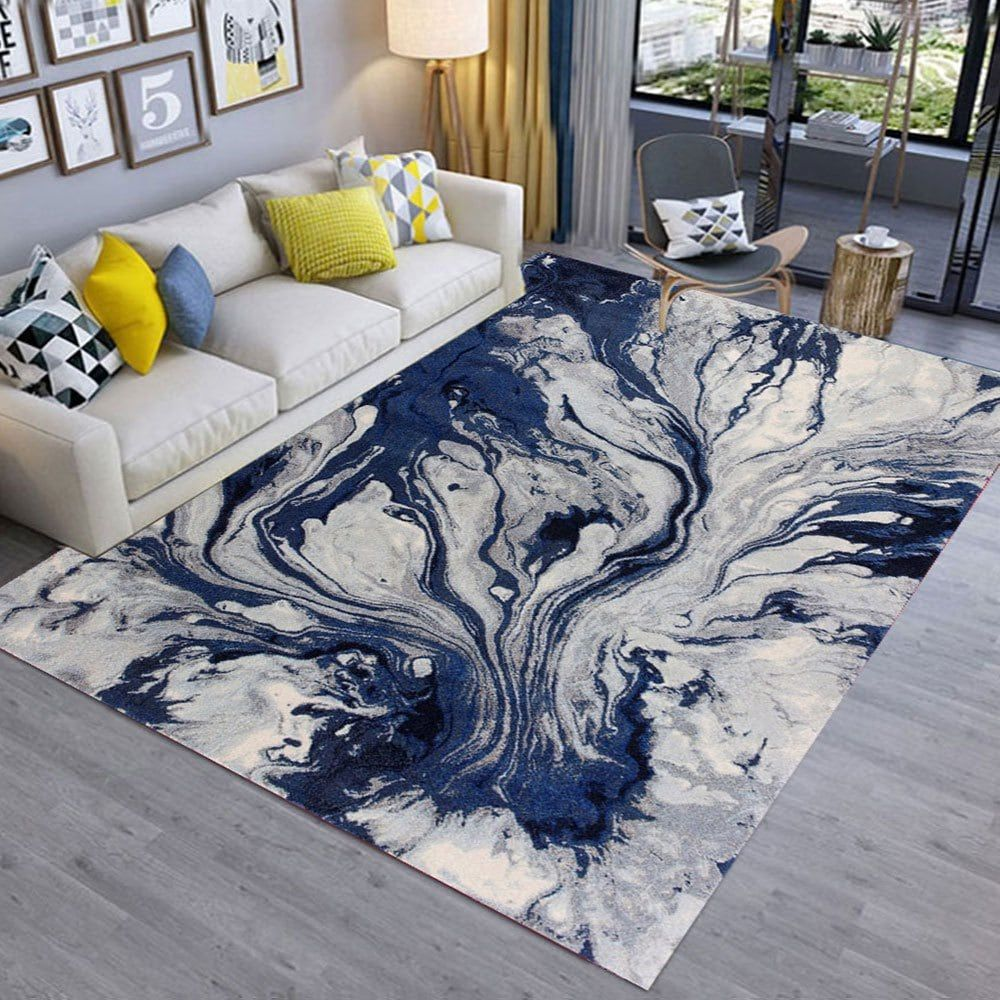 Modern Style Floor Carpet Abstract Painting Living Room Bedroom Doorway Mat Living Room Carpet Rugs On Carpet Decor