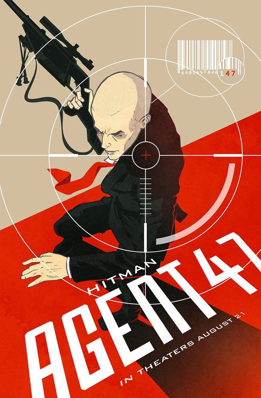Poster design 20th century - Hitman Agent 47 Alternate Movie Poster For 20th Century Fox S 47daysofhitman Campaign By