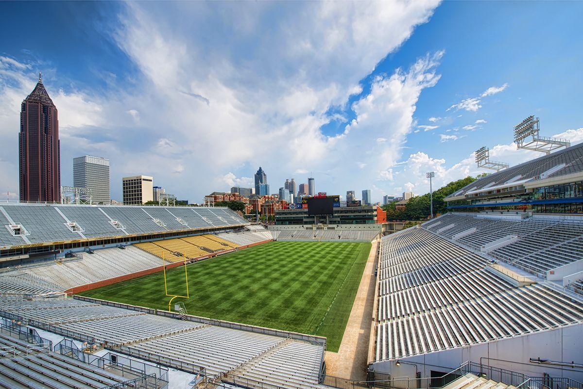 Great photo by David Smith of Bobby Dodd Stadium