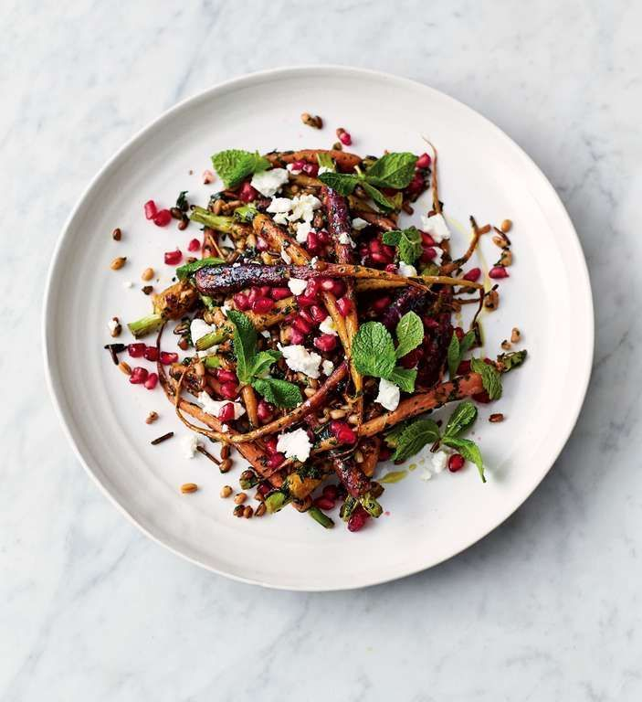 Jamie Olivers Carrot and Grain Salad