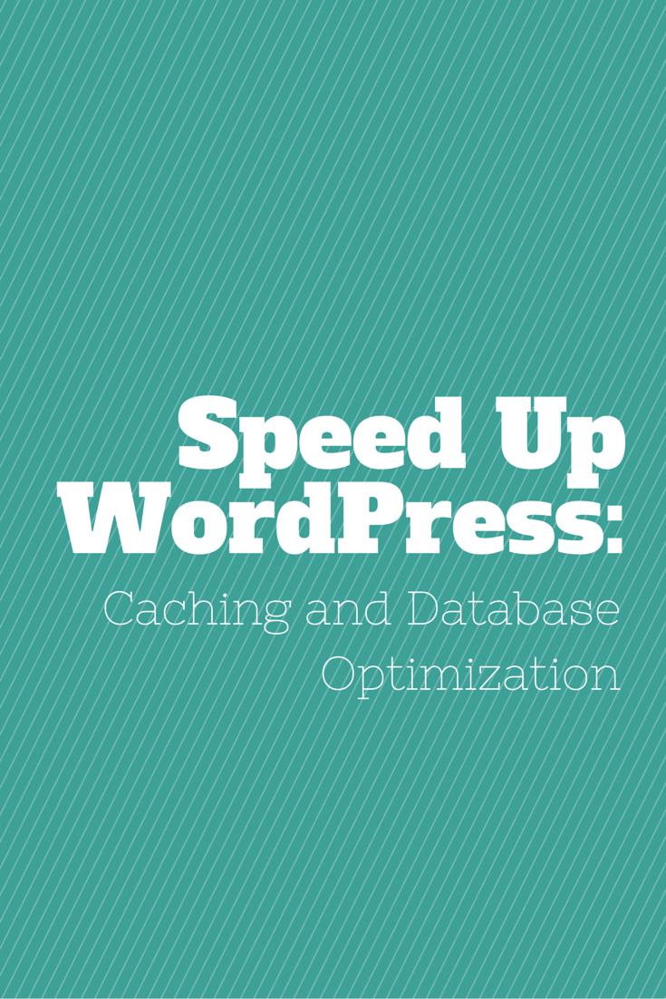 Speed Up WordPress: Caching and Database Optimization WP Spe