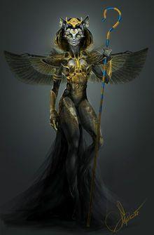 Bastet Con Imagenes Dioses Egipcios Mitologia Egipcia Bastet
