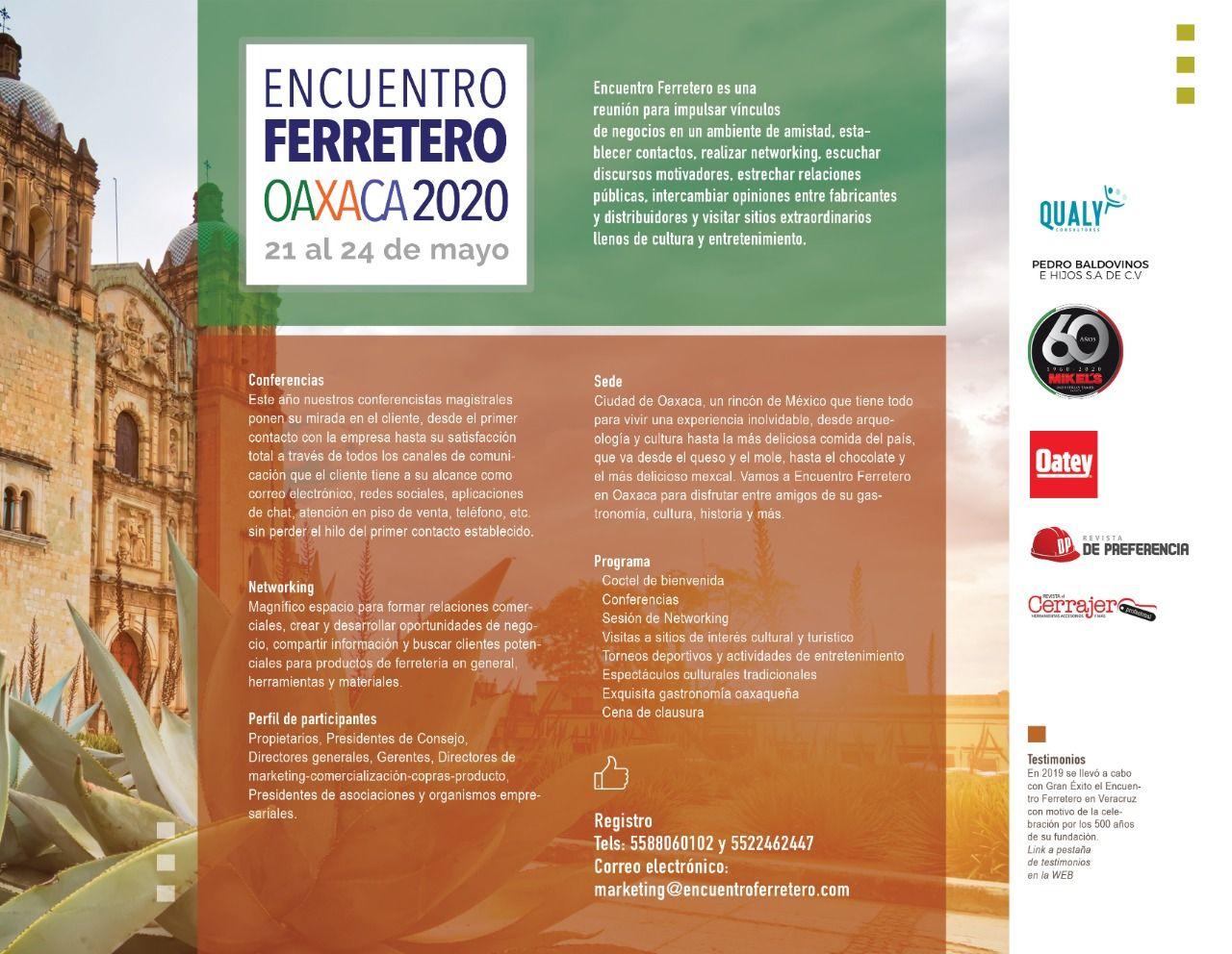 Oaxaca 2020 Discursos Motivadores Ferretero Encuentro