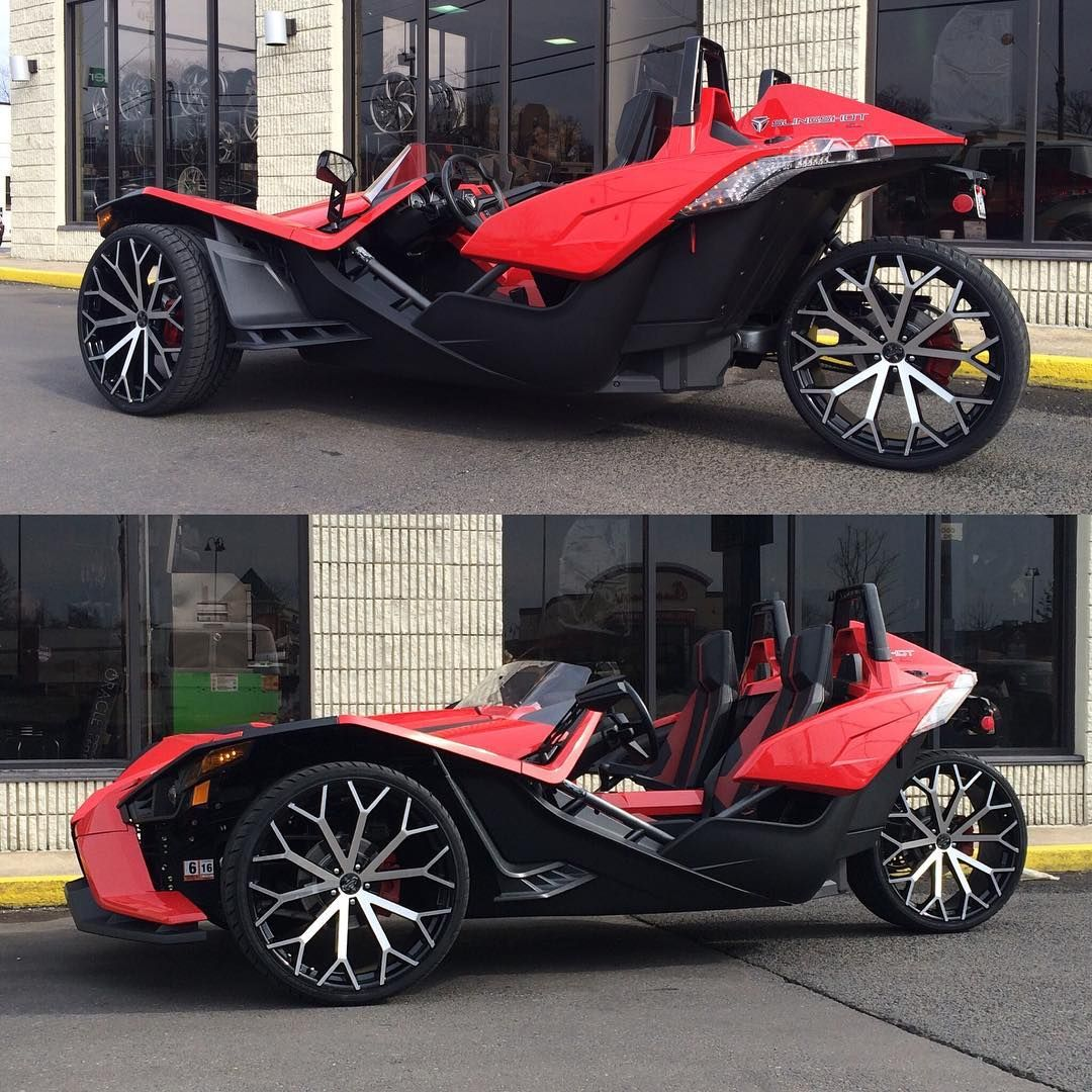 Slingshot Sitting On 24s Not22s 24inches Polaris Slingshot