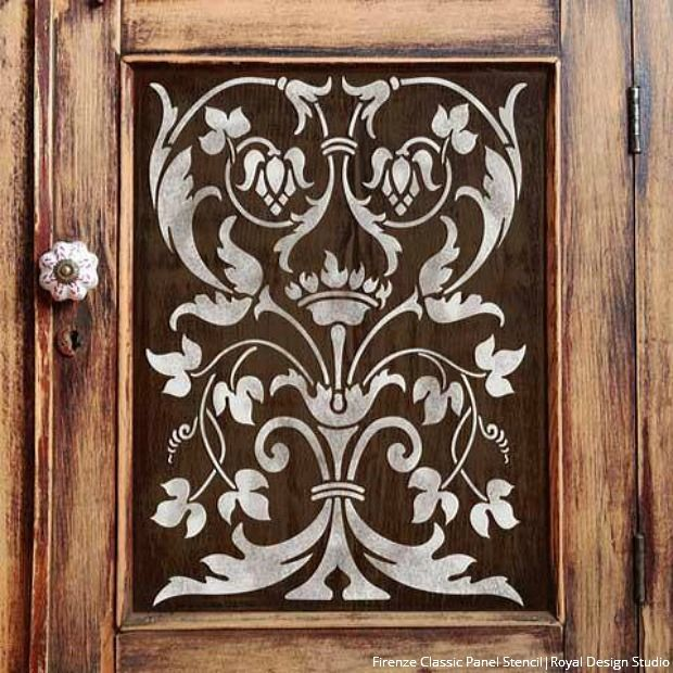 La Vida Dolce Italian Style Decorating with Stencils - DIY Wall and