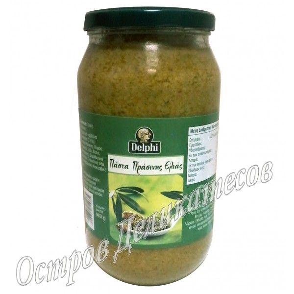 Delphi паста из зеленых оливок 960г стекло