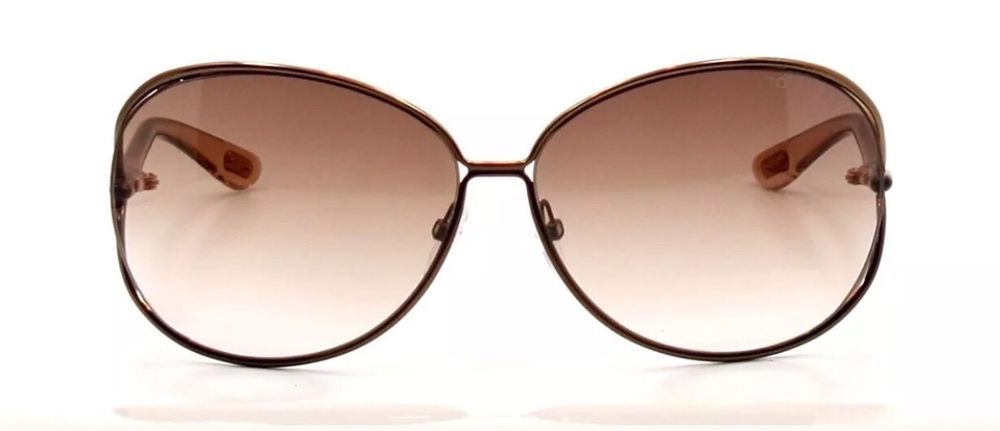 71ad93b5412d5 NWT Tom Ford Clemence Sunglasses Brown Frame Gradient Lens FT0158 36F  485   fashion  clothing  shoes  accessories  womensaccessories ...