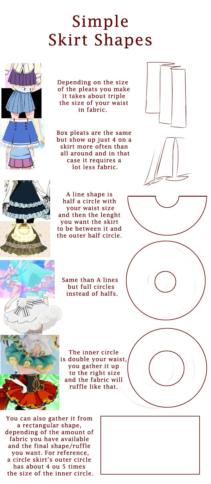 hope it can be helpful to someone~   Sew time   Pinterest   Costura ...