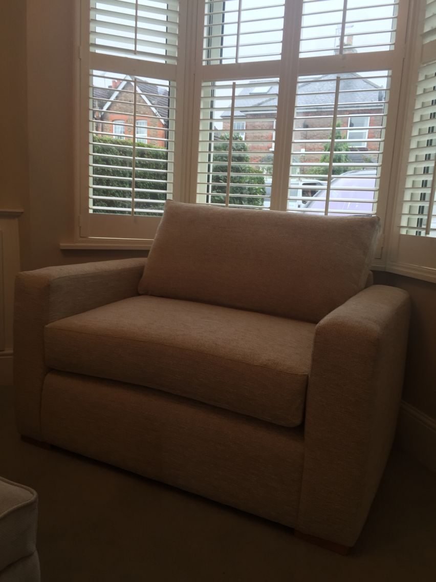 Bespoke Over Sized Armchair Made To