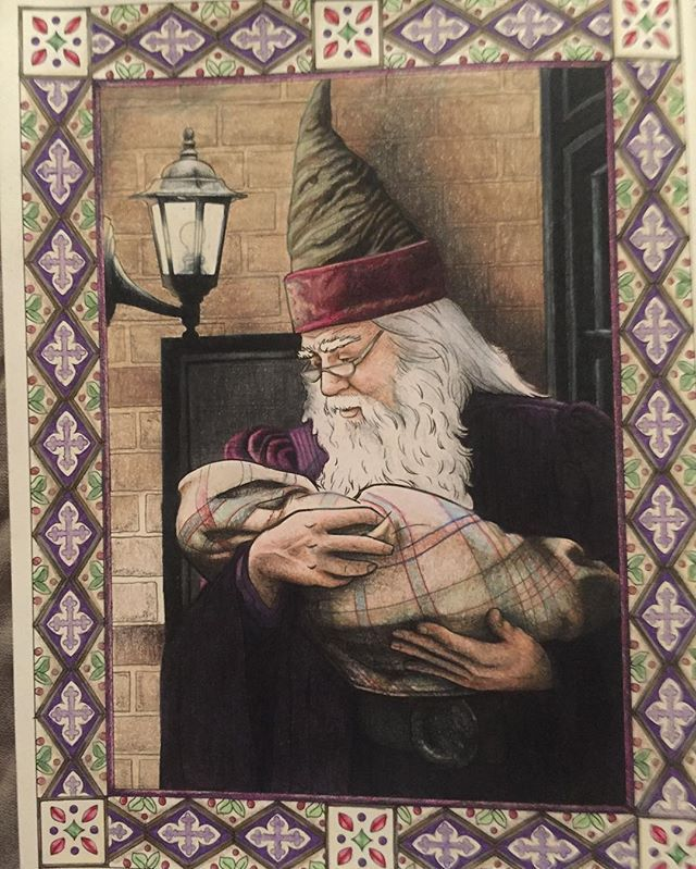 Back To The Grind Harrypottercoloringbook Dumbledore