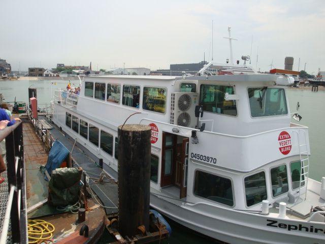 Port tour with the Zephira ship - © Sabrina Ide - 2012
