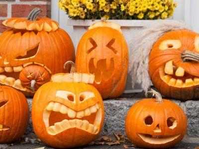 Cómo Tallar Una Calabaza Pumpkin Carving Halloween Pumpkins Carvings Halloween Pumpkins