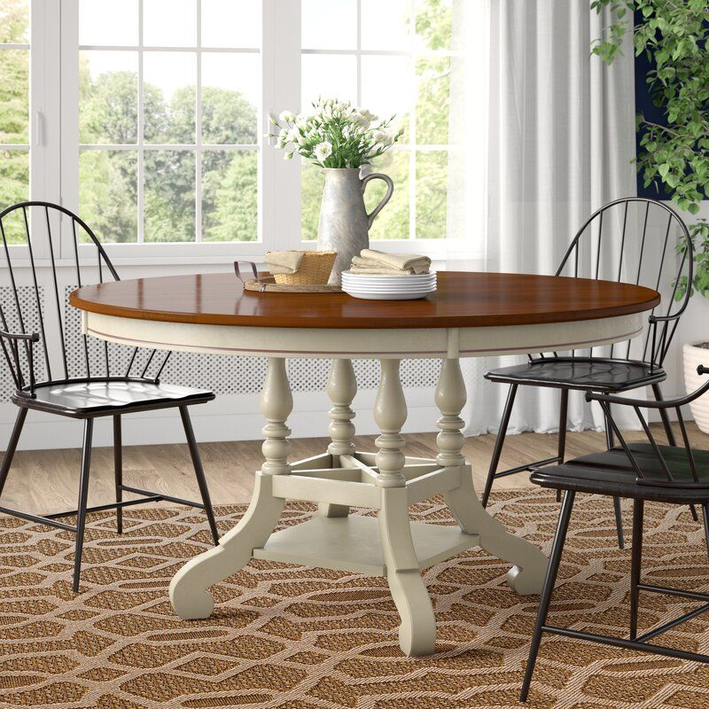 Alise Extendable Solid Wood Dining Table Dining Table Solid Wood Dining Table Wood Dining Table