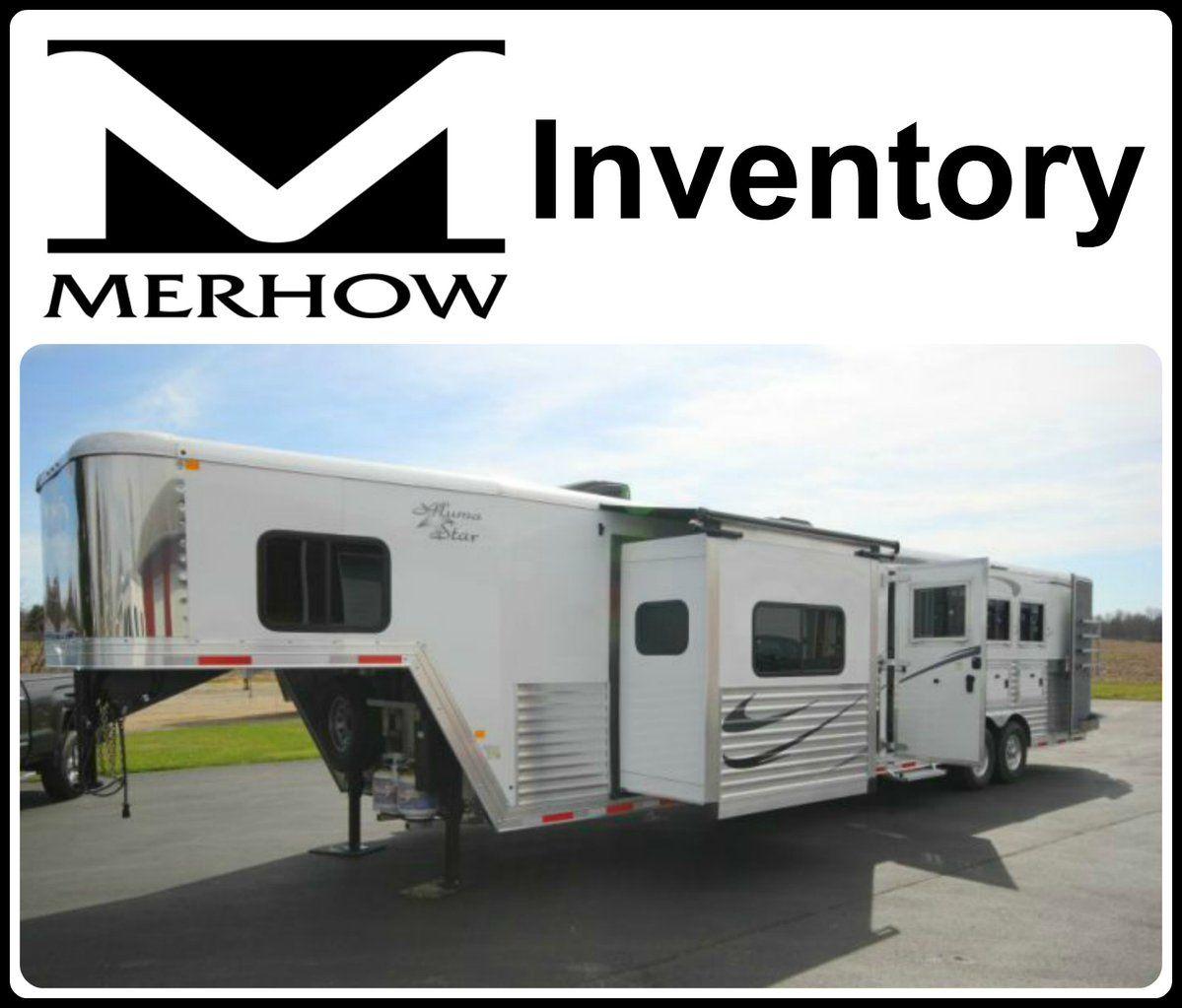 Merhow Trailers Inventory from Triple C Trailer Sales. Horse Trailer Living Quarters (@TripleCTrailers)   Twitter