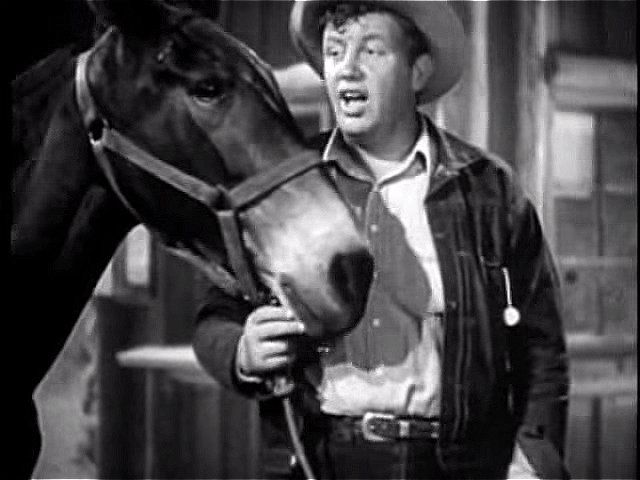 Andy Devine with mule | Yellowstone (1936) | The Faces in