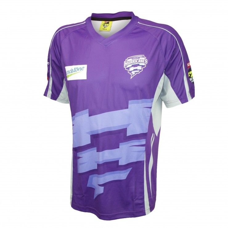 9f84f1b023fd3 Hobart Hurricanes jersey | BBL Jerseys | Mens tops, Shirts, Polo shirt