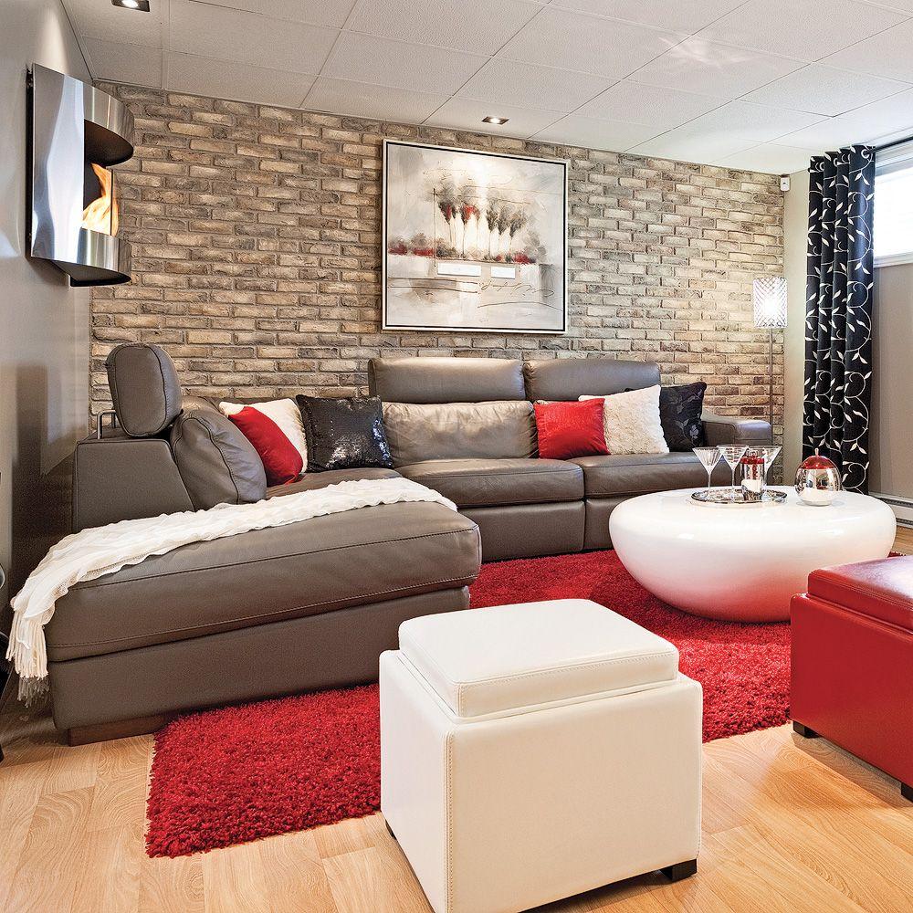 espace actuel et familial - salon - avant après - décoration et
