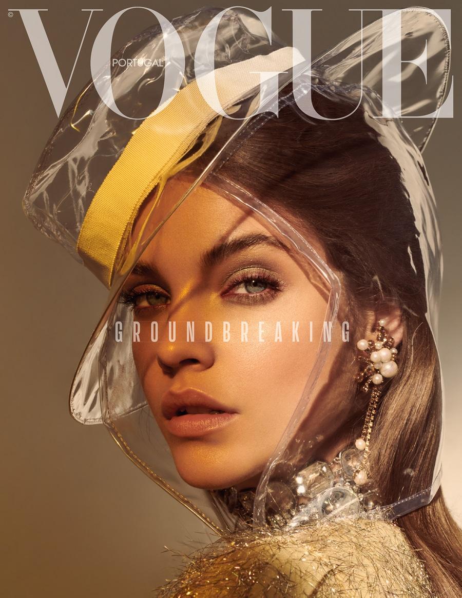 Vogue Portugal March 2018 Barbara Palvin by Andreas Ortner | Fashion Editorials