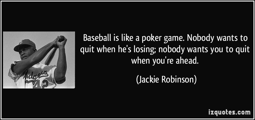 Baseball is like a poker game quote wicked winnings slot machine online free